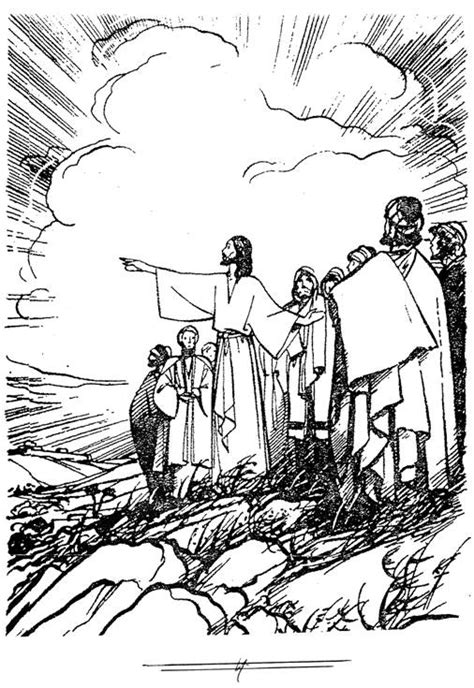jesus nathanael coloring page free coloring pages of disciple called