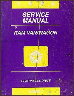 online service manuals 1996 dodge ram van 3500 security system 1996 dodge ram van wagon repair shop manual original b1500 b3500
