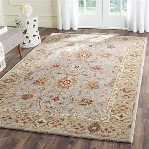light colored area rugs safavieh antiquity black 4 ft x 6 ft area rug at21b 4