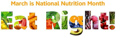 theme education month 2015 national nutrition month rdelicious kitchen culinary