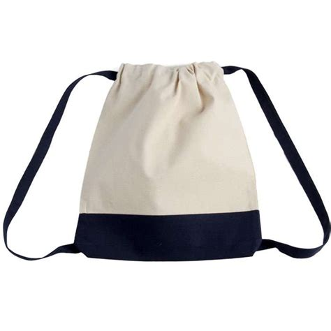 Bags Two Tone Backpack canvas two tone drawstring sport bag backpack drawstring