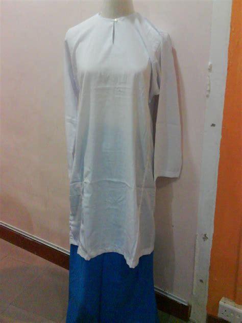 Baju Seragam Sekolah Putih Panjang No 10 L W sekolah