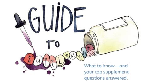 supplement questions your top supplement questions answered supplements