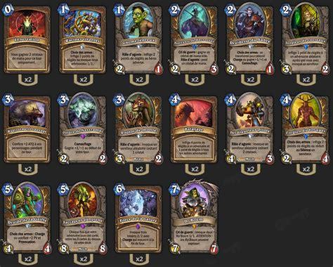 hearthstone deck druide deck druide cancer loe hearthstone heroes of warcraft