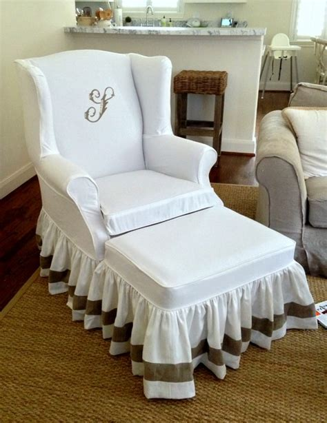 wingback slipcovers wingback slipcovers mediterranean other metro by ls