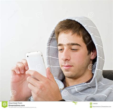 teenager  iphone stock  image