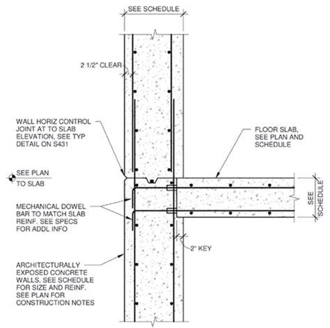 precast concrete wall section cast in place concrete wall section google search