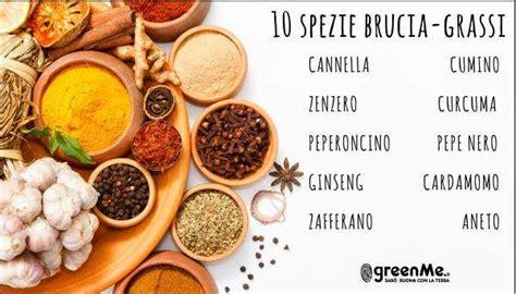 alimentazione in caso di gastrite 10 spezie brucia grassi greenme