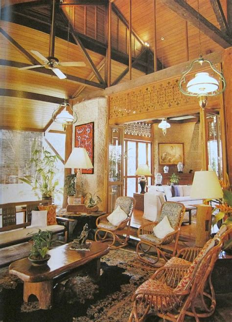 philippine home decor philippine interiors mabuhay pinterest