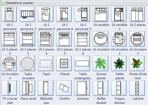 Tv Floor Plan by Symboles De Plan De Maison