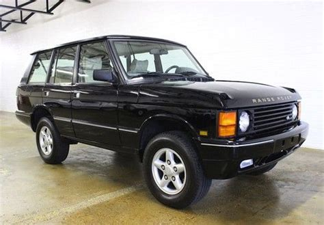 how to work on cars 1995 land rover discovery engine control buy used 1995 range rover classic twr rare extremely clean in dallas texas united states for
