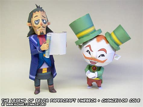 Papercraft Legend Of - papercraft legend of linebeck cole by