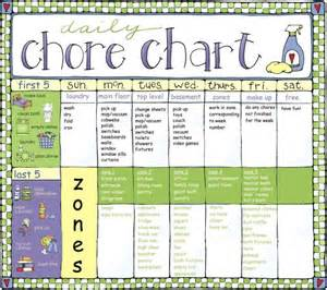 household chores chart 10 best images of household
