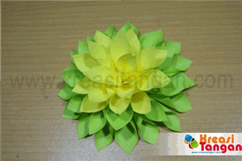 tutorial membuat bunga dari kertas lipat kerajinan tangan dari kertas lipat kreasi tangan