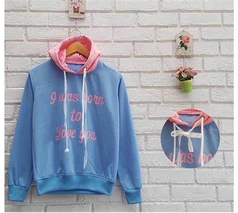 Jaket Bomber Kanvas New Jaket Sweater Cardi I L O V E F A S H I O N S