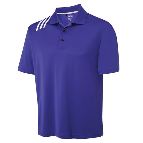 Tshirt Adidas Golf New adidas golf climacool mens 3 stripe sports solid polo