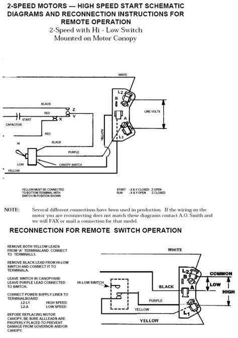 ao smith pool motor wiring diagram wiring diagram with
