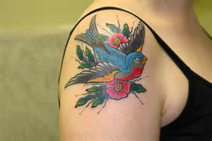 colorful bird tattoos 73 beautiful birds shoulder tattoos