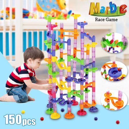 150 pcs diy marbles roll creative building playset sales