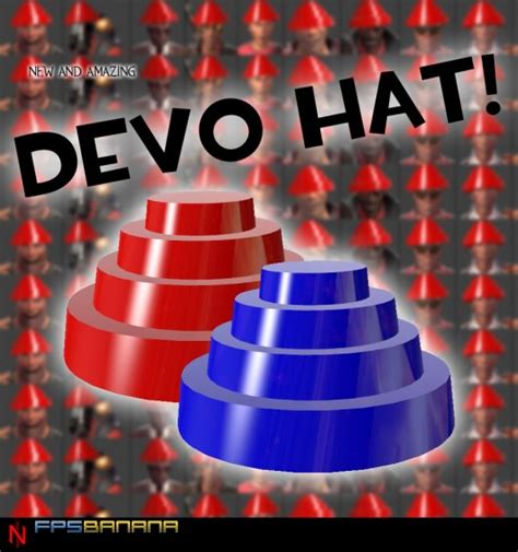 How To Make A Devo Hat Out Of Paper - devo hat team fortress 2 gt skins gt all class gt cosmetics