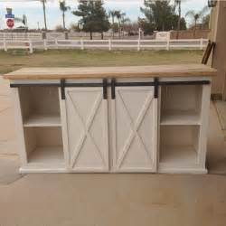 Small Kitchen Sideboard Grandy Sliding Door Console Ana White Bloglovin