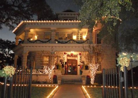 caswell house front of the caswell house at christmas picture of caswell house austin tripadvisor