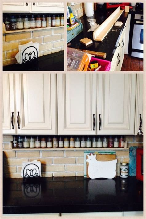 diy counter spice rack diy spice rack nerdyjenna