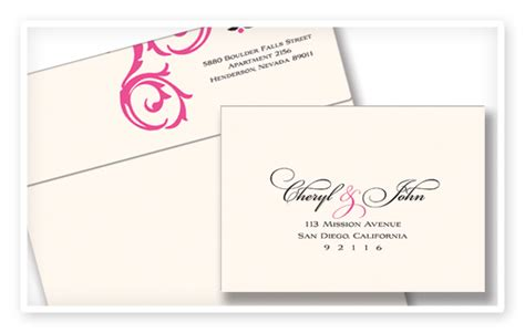 Addressing Wedding Rsvp Envelopes Coordinating Return And Reply On Simple Format Of Marriage Rsvp Envelope Address Template