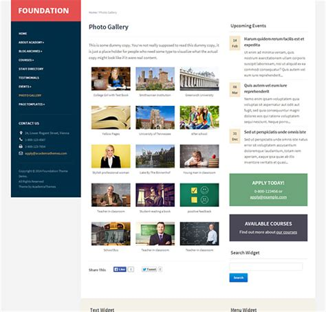 theme foundation foundation wordpress theme academiathemes