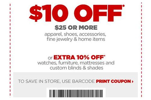 jcpenney coupon code online 2018