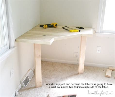 How To Build A Vanity Table by Diy Dressing Table Beneath