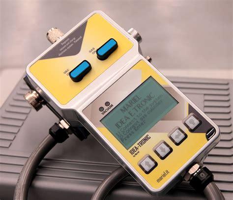 ideatronic systeme digital pour diagnositc charge  vide