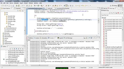 android tutorial json web service android tutorial conectar a web service mediante android