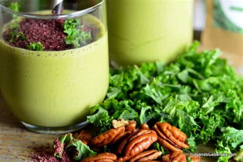 Best Kale Detox Smoothie by Kale Detox Smoothie Nutsandblueberries