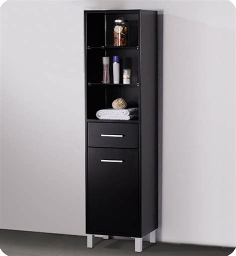 Bathroom Linen Shelves 15 75 Quot Fresca Fst1004es Espresso Bathroom Linen Cabinet W 3 Open Shelves Side Cabinets