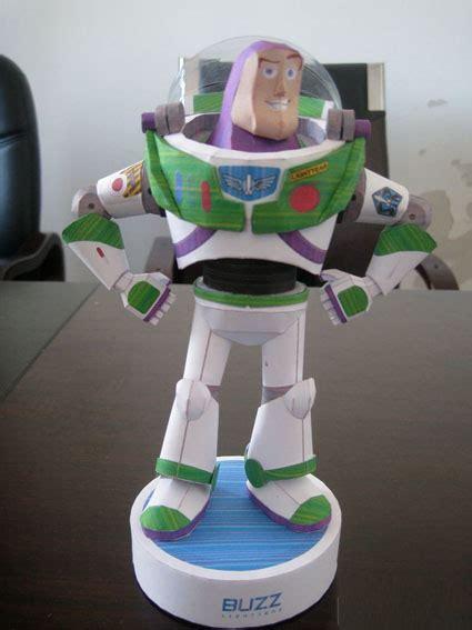 Buzz Lightyear Papercraft - new wholesale papermodel papercraft cardm made paper