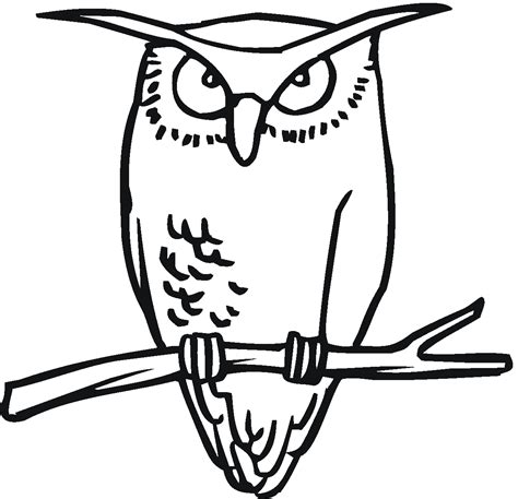 printable pictures of great horned owl free printable owl coloring pages for kids