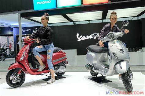 Vespa Lx 125 I Get Rosso Tangerang bims 2017 i get equipped vespa s125 lx125 launched