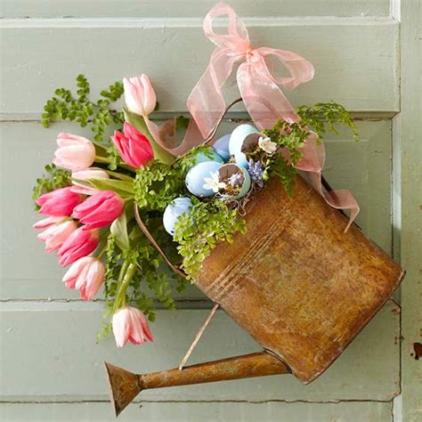decor flowers front door decor spring wreath alternatives
