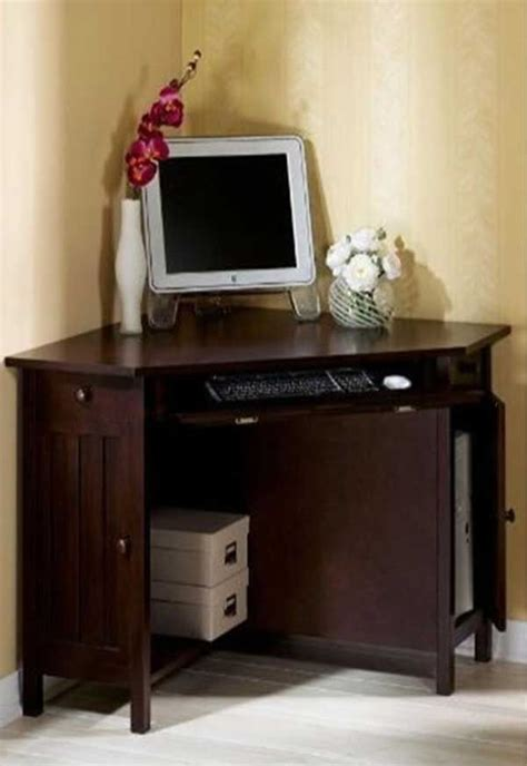 Computer Corner Desk For Home 17 Best Images About Small Corner Computer Desk On Small Corner Country Style And