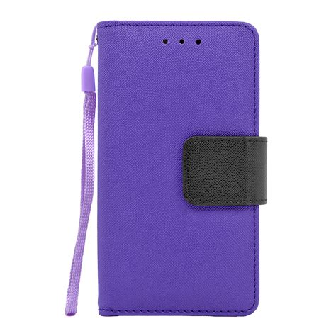 Samsung J5 Leather Wallet Sarung Dompet Armor Cover Flip Casing saapni samsung galaxy j5 2016 leather wallet pouch cover purple wcfc09 samj510pp