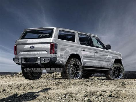 ford bronco 2020 4 door enthusiasts 4 door 2020 ford bronco concept isn t real