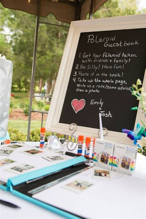Wedding Guest Book Backdrop by Best 25 Polaroid Guest Books Ideas On