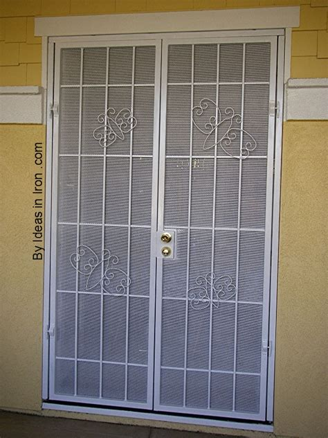 Security Screen Doors Security Screen Door At Home Depot Exterior Security Door