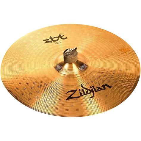 Cymbal Zildjian Zbt Crash 16 zildjian zbt crash cymbal 16 inches musician s friend
