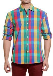 multi color shirt tog bright multi color casual cotton shirt tmss113a