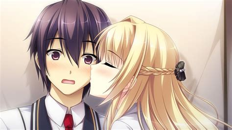 anime kiss nice anime wallpapers in high quality