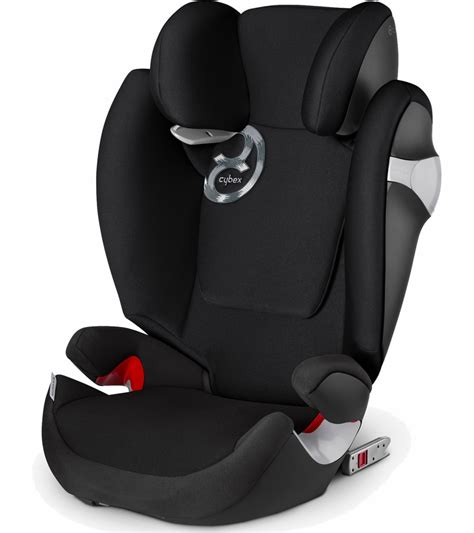 cybex solution  fix booster car seat black beauty