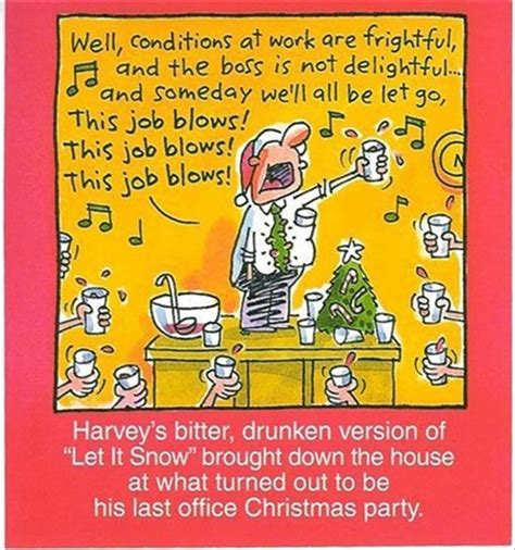 last christmas office party cartoon art christmas