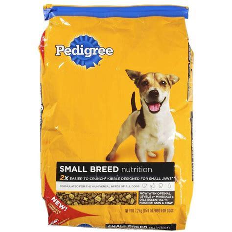 pedigree small food pedigree small breed food 15 9 lb bag 10084166 the home depot